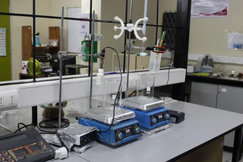 Laboratorio de investigación aplicada en metalurgia extractiva
